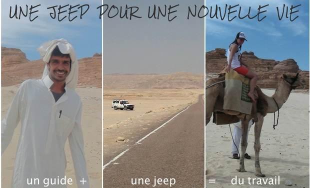 Visueel van project Une jeep pour une nouvelle vie