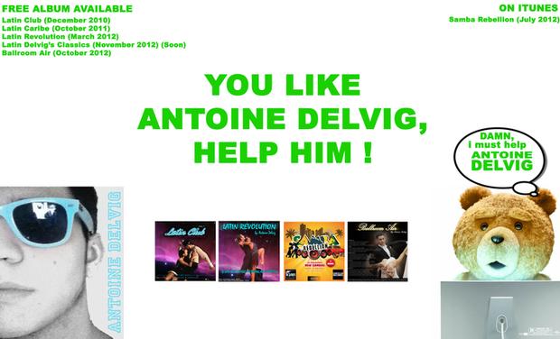 Project visual Antoine Delvig (DJ DanceSport)