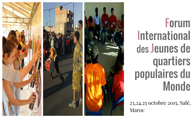 Project visual RIO - RABAT : 4ème édition du Forum international des Jeunes de quartiers populaires du monde