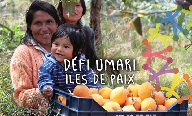 Visuel du projet Iles de Paix: défi Umari au Pérou