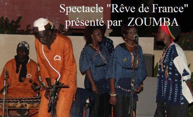 """Visueel van project Spectacle """"Rêve de France"""""""