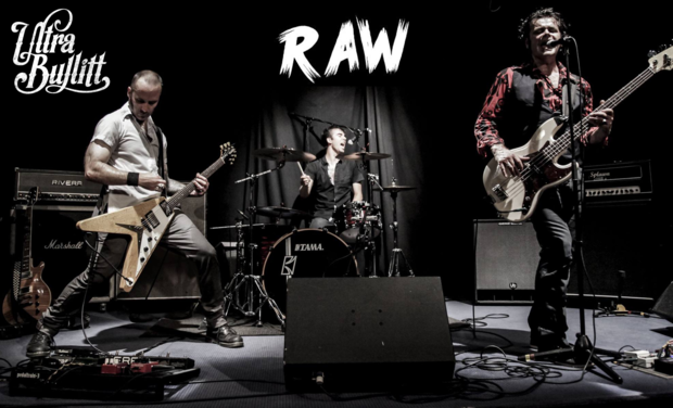 "Project visual ULTRA BULLITT - Nouvel EP - ""RAW"""