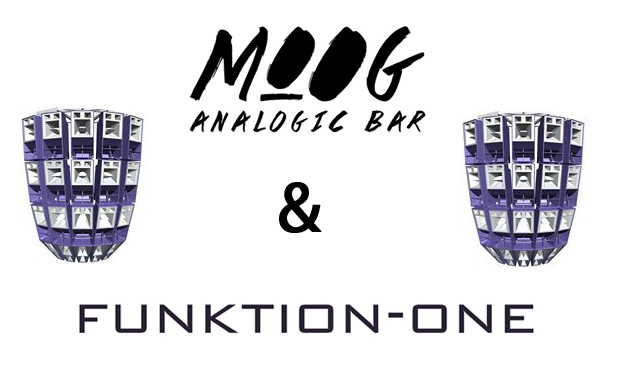 Visuel du projet MOOG Analogic Bar & Funktion One