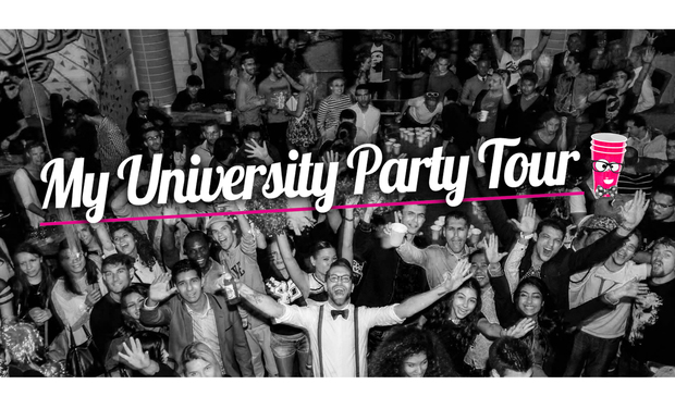 Visuel du projet My University Party Tour