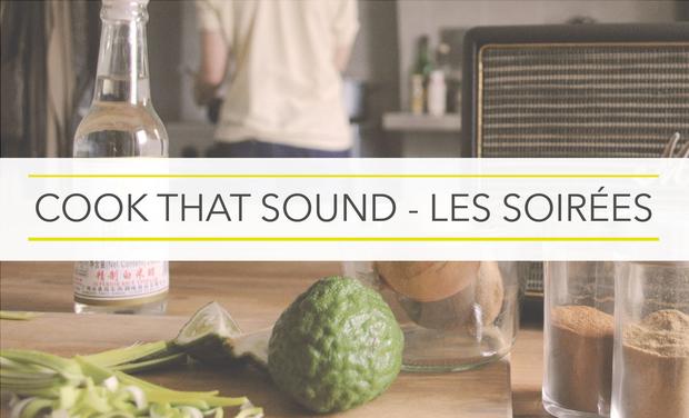 Visuel du projet Cook that Sound - Les soirées