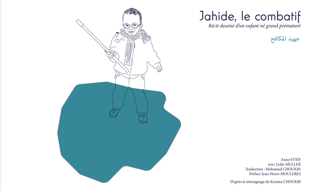 Visueel van project Jahide le combatif