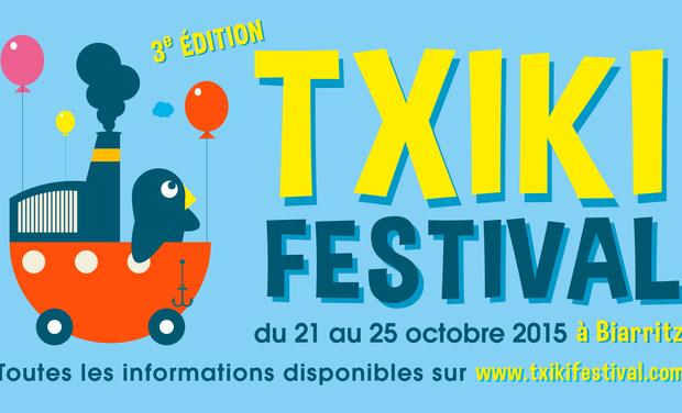 Visuel du projet Txiki Festival, Festival de cinéma pour enfants