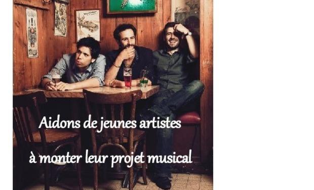 Visueel van project Aidons de jeunes artistes à monter leur projet musical