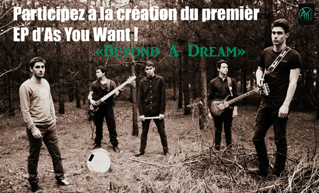 Visuel du projet Premier EP d'As You Want