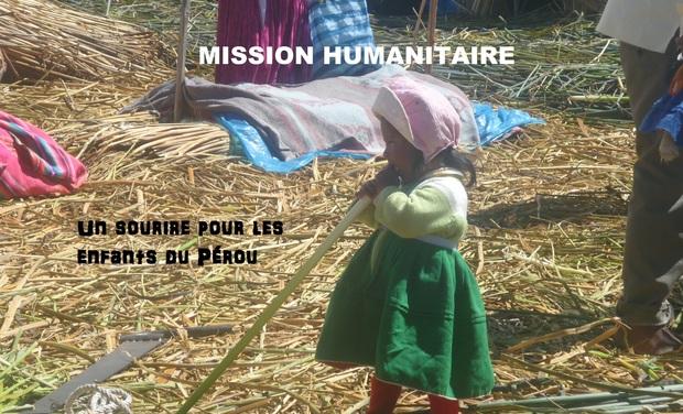 Project visual aidez les enfants du pérou