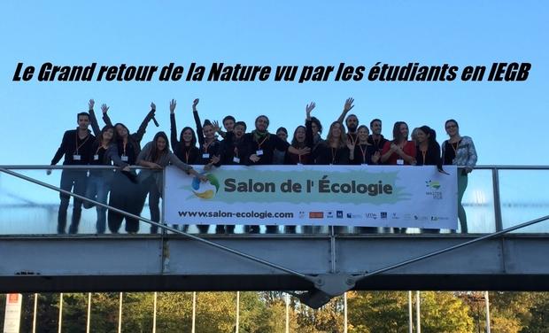 Project visual Le Grand Retour de la Nature vu par les étudiants en IEGB.