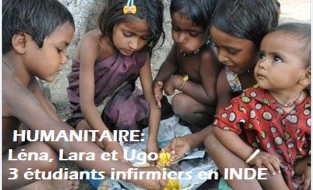 Visuel du projet Etudiants infirmiers: Stage Humanitaire INDE