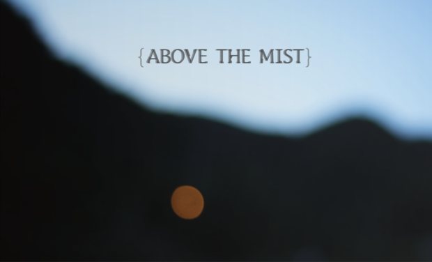 Project visual Above the mist (안개 위에)
