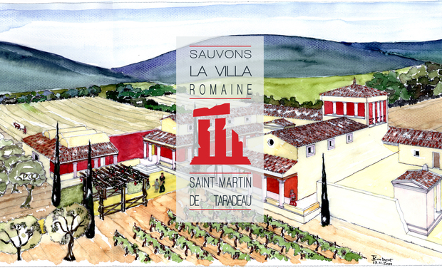 Project visual Sauvons la villa romaine Saint-Martin de Taradeau