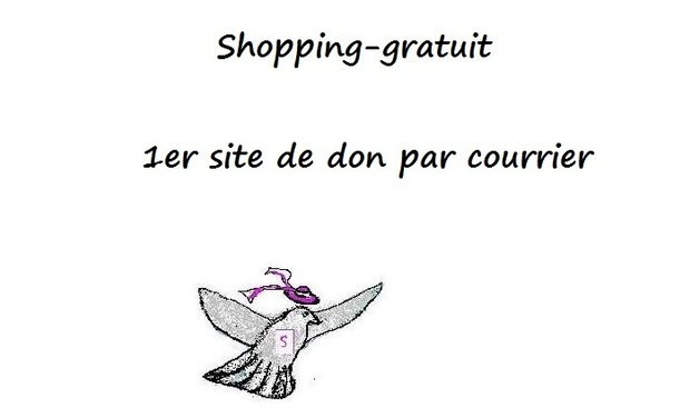 Project visual Shopping-gratuit : 1er site de don par courrier
