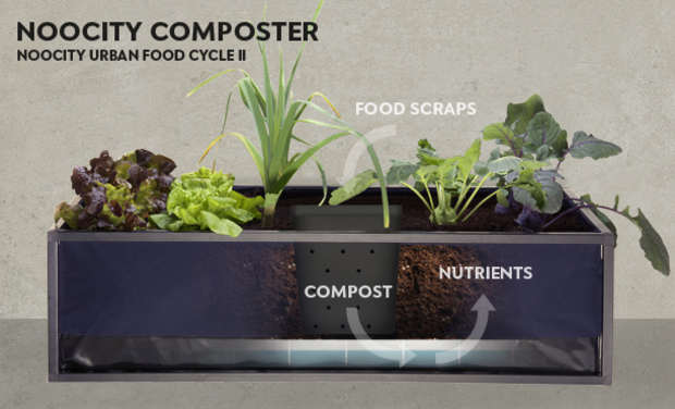Visuel du projet The Noocity Urban Food Cycle - Part 2 - The Composter