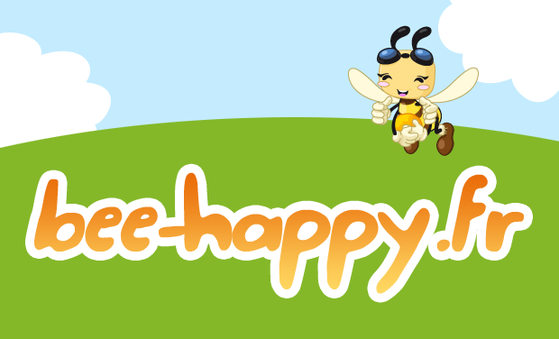 Visueel van project Bee Happy jeu d'apiculture