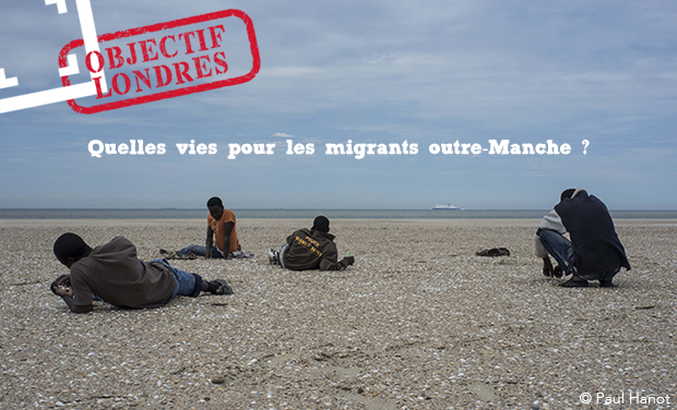 Visueel van project Migrants : Objectif Londres