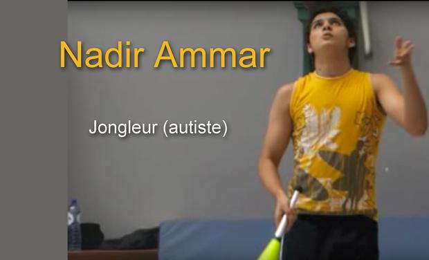 Visuel du projet Réaliser le rêve de Nadir, ce  jongleur (autiste), et lancer sa carrière