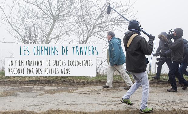 """Visuel du projet """"Chemins de travers"""""""