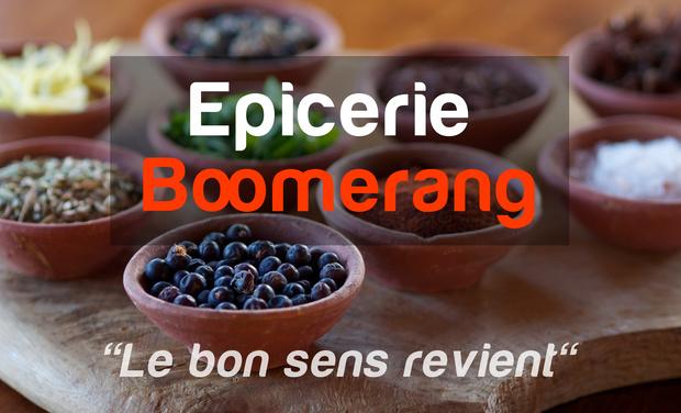 Visueel van project Epicerie Boomerang : la 1ère épicerie sans emballage jetable dans les Alpes-Maritimes.