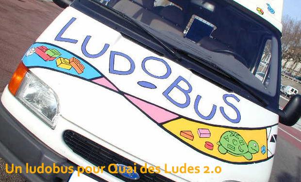Visuel du projet Un ludobus pour Quai des Ludes 2.0