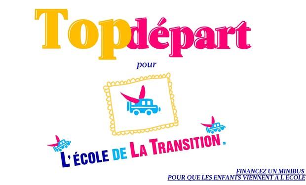 Visuel du projet Top départ pour L'École de la Transition !