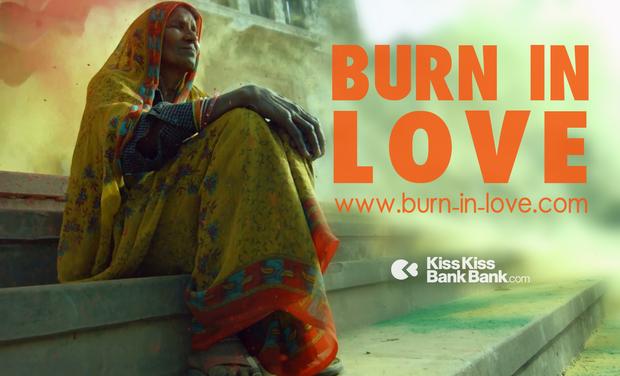 Project visual BURN IN LOVE