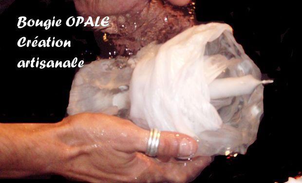 Visuel du projet Bougie OPALE