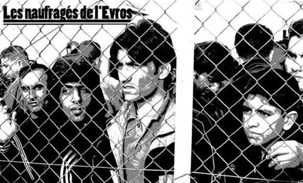Visueel van project Les naufragés de L'Evros