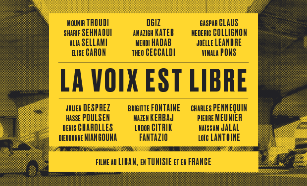 "Project visual ""La voix est libre"" - documentaire tourné au Liban, Tunisie et France."