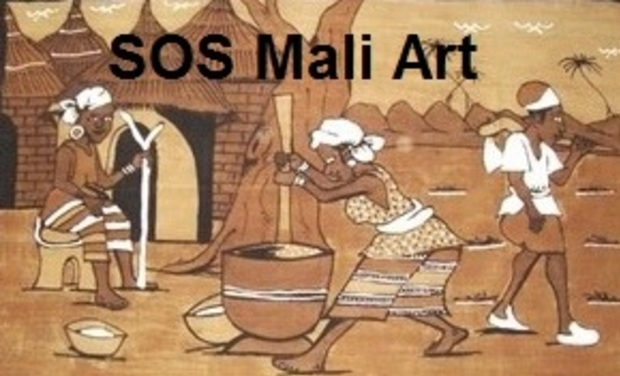 Visueel van project SOS Mali Art