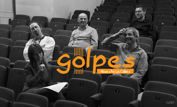 """Visuel du projet GOLPES - REALISATION ALBUM EP        """"POR LAS CALLES"""""""