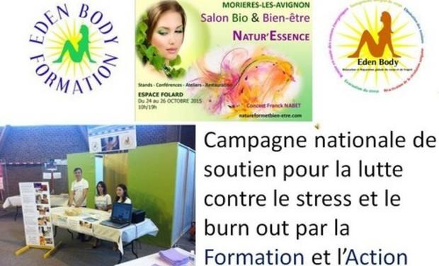 Visuel du projet Campagne nationale de Soutien pour la lutte contre le stress et le burn out par la formation et l'action