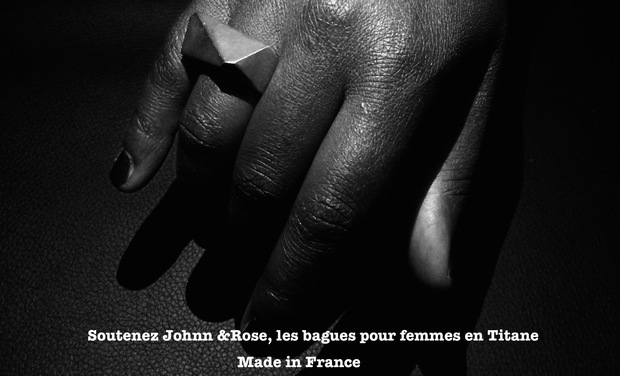 Visueel van project Johnn & Rose,  concepteurs de bagues en titane Made in France
