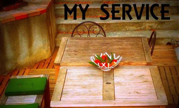 Visueel van project My Service, la nouvelle façon de consommer entre particuliers