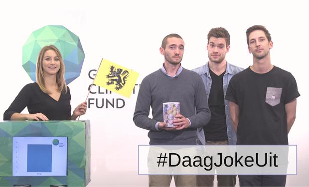 Project visual #DaagJokeUit voor het klimaat