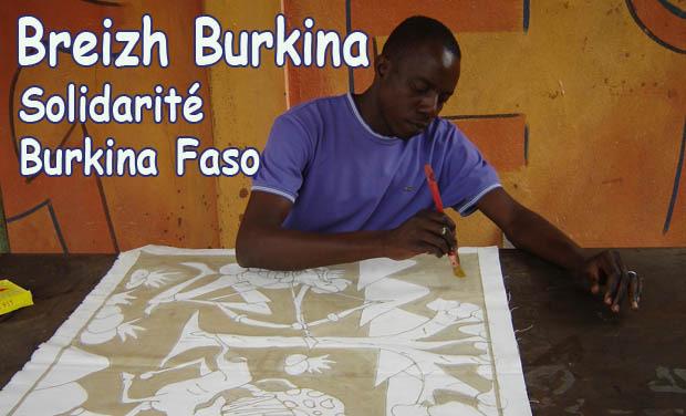 Project visual Fiesta Reizh solidarité Burkina Faso