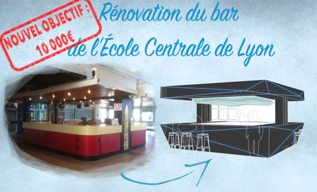 Visuel du projet Rénovation du Bar de l'Ecole Centrale de Lyon