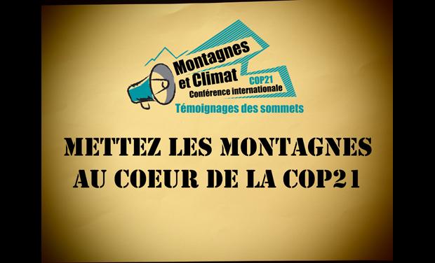 Visuel du projet Portons ensemble la voix de la Montagne à la COP21 !