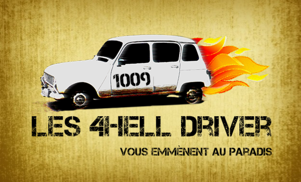 Project visual 4hell driver - 4L Trophy 2016 by Jules&Damien