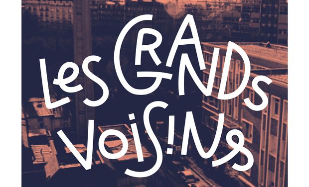 Visueel van project Les Grands Voisins : un espace public inédit