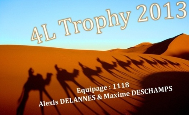 Visueel van project Les Fifous du 4L Trophy 2013