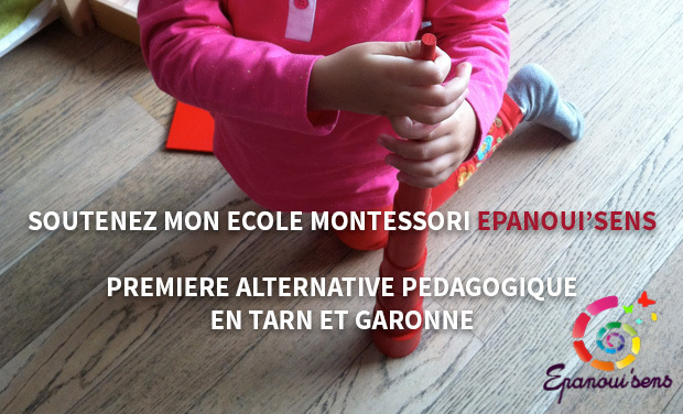 Project visual Ecole Montessori Epanoui'sens