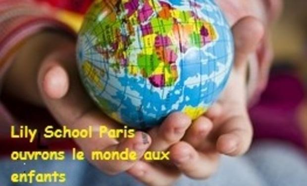 Visuel du projet Lily School Paris,   aidez-nous à ouvrir le monde aux enfants...