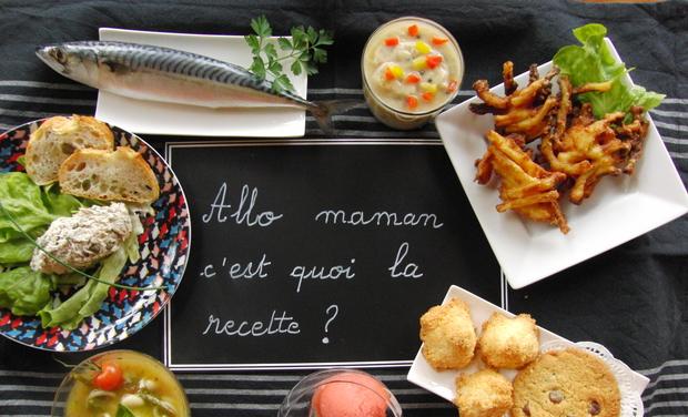 Visuel du projet Allo maman, c'est quoi la recette ?