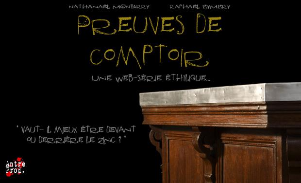 """Project visual """"Preuves de Comptoir"""""""