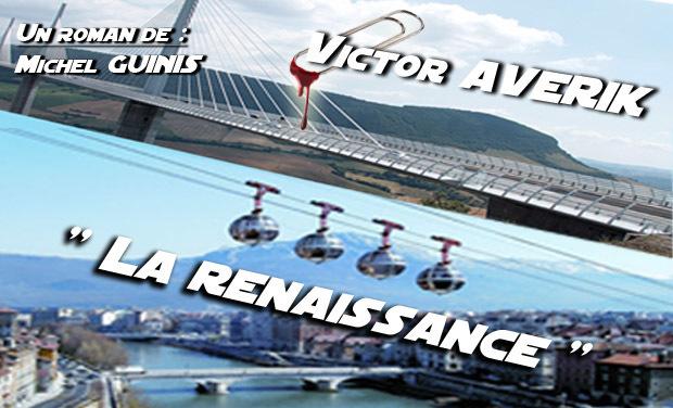 """Visuel du projet Edition du livre Victor Averik """"La renaissance"""""""