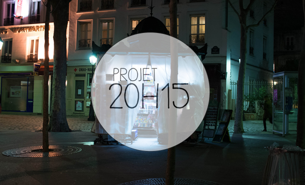 Project visual Projet 20h15 en papier !