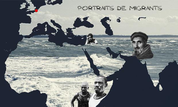 Visuel du projet Portraits de migrants